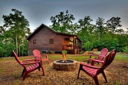 the blue luxury experience ga cabins slide in north georgia cabin rentals ridge rustic